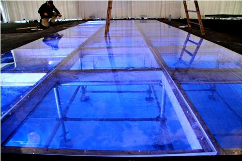 custom dance floor matakana scaffolding inc